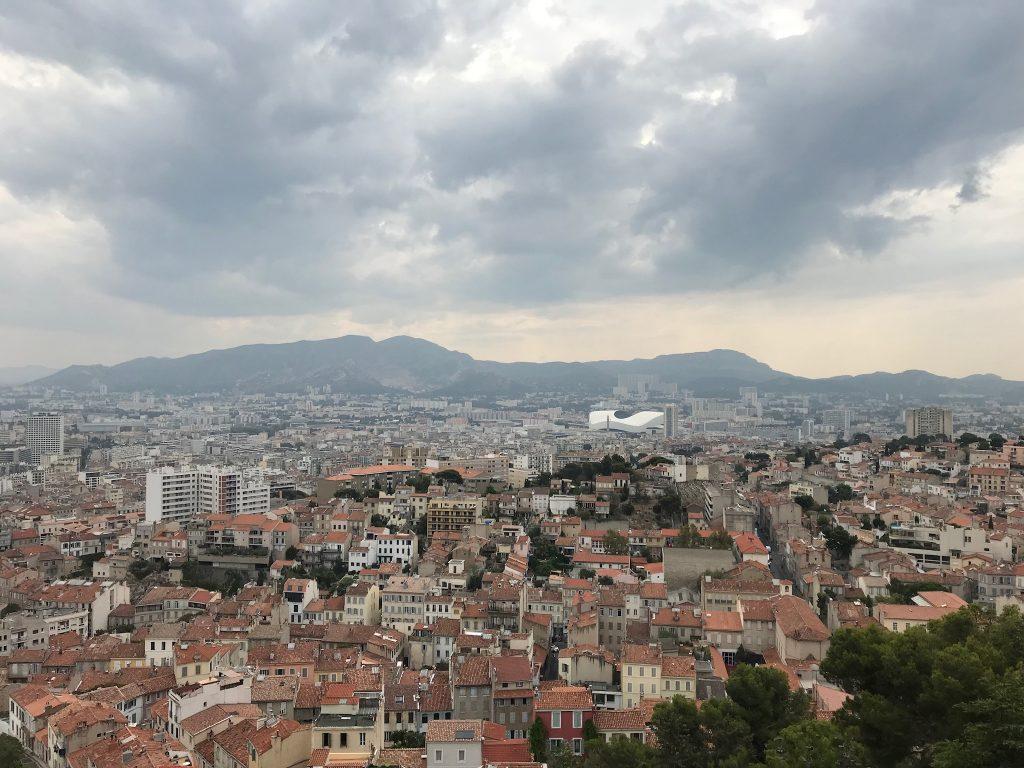 Blick auf Marseille II